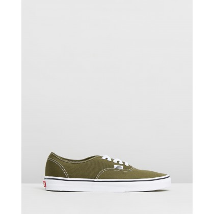 Authentic - Men's Beech & True White by Vans
