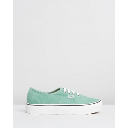 Authentic Platform 2.0 - Women's Creme De Menthe & Snow White by Vans