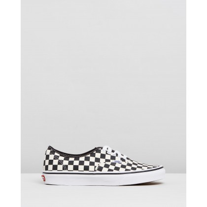 Authentic - Unisex Primary Check Black & White by Vans