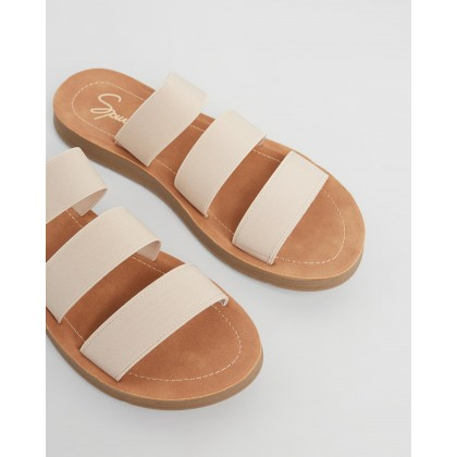 Avar Slides Blush Elastic by Spurr