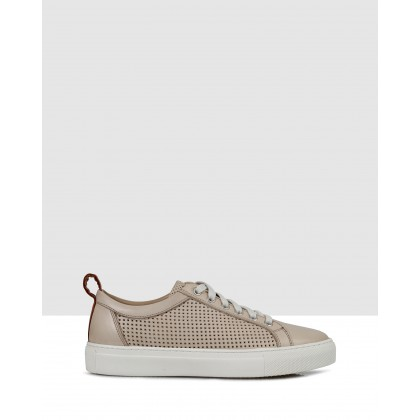 Averil Sneakers Beige by S By Sempre Di