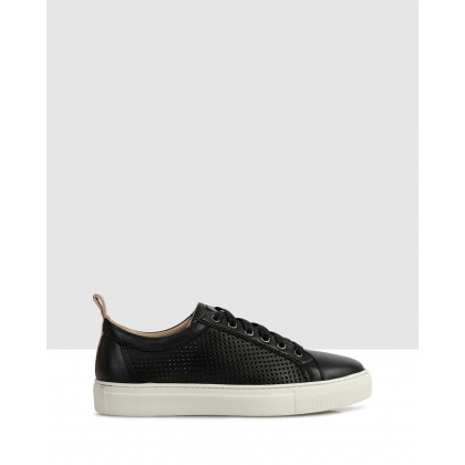 Averil Sneakers Black by S By Sempre Di