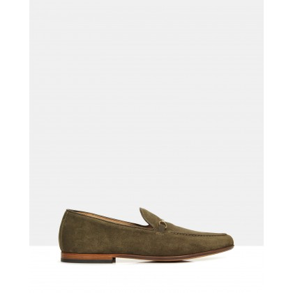 Avery Loafers Olive by Brando
