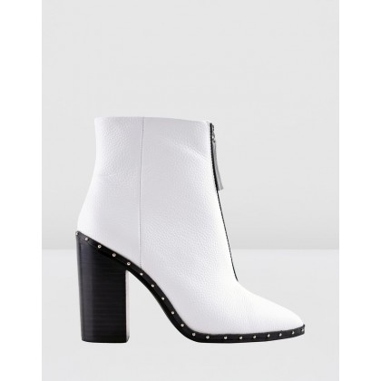 Axel Boots White by Sol Sana