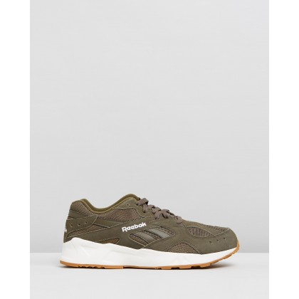 Aztrek 93 Gum, Army Green & Chalk by Reebok