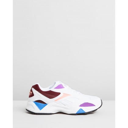 Aztrek 96 - Women's White, Porcelain & Maro by Reebok