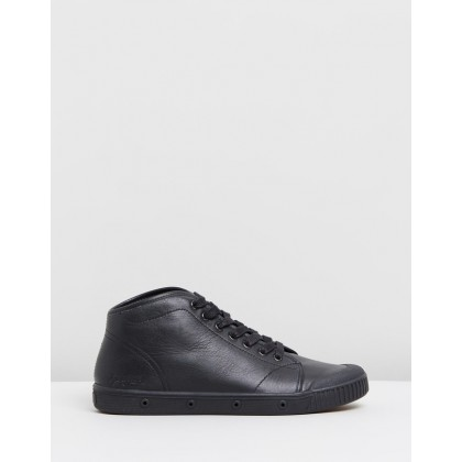 B2 Leather - Women's Black Nappa by Spring Court