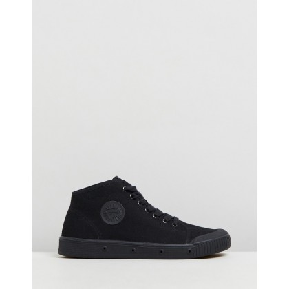 B2 - Women's Black Canvas by Spring Court