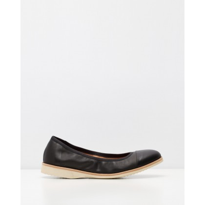 Ballet Flats Black by Rollie