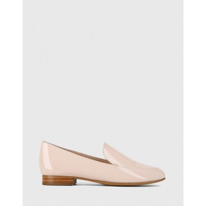 Banks Flat Loafers Pink by Wittner