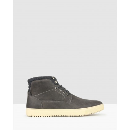 Banner Lifestyle Ankle Boots Charcoal by Betts