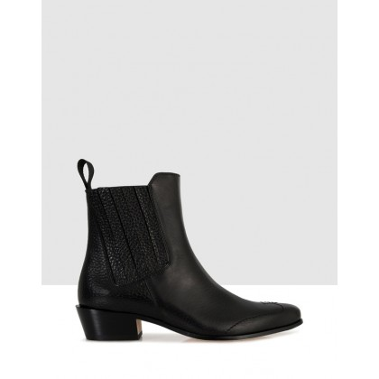 Bardsley Ankle Boots Black by Beau Coops