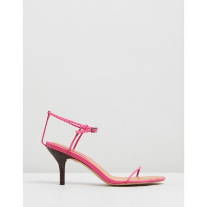 Bare Sandals Hot Fuchsia by Jaggar The Label