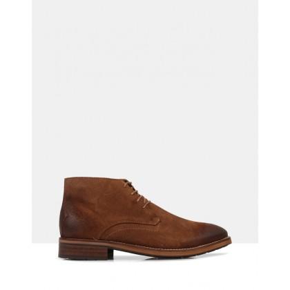 Barre Desert Boots Cognac by Brando