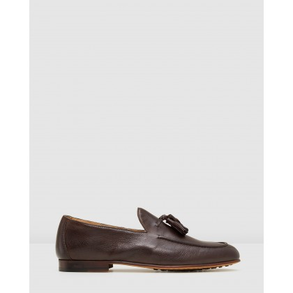 Basso Loafers Brown by Aquila