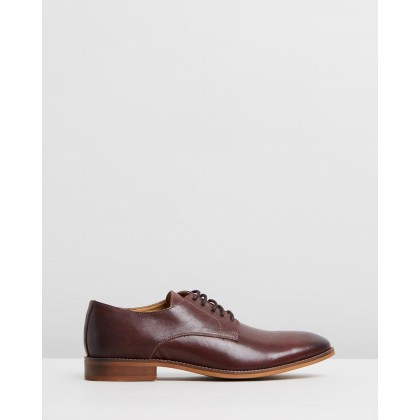 Baxter Leather Derby Brown by Double Oak Mills