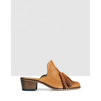 Beacher Mules Yellow by Beau Coops