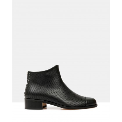 Beau5 Ankle Boots Black by Beau Coops