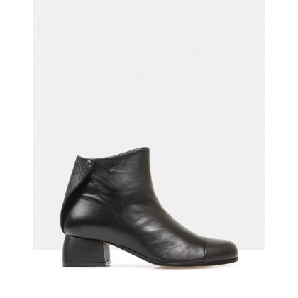 Beau6 Ankle Boots Black by Beau Coops