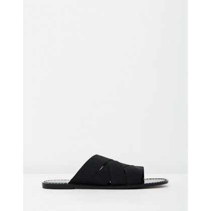Bella Flats Black Elastic by Mode Collective