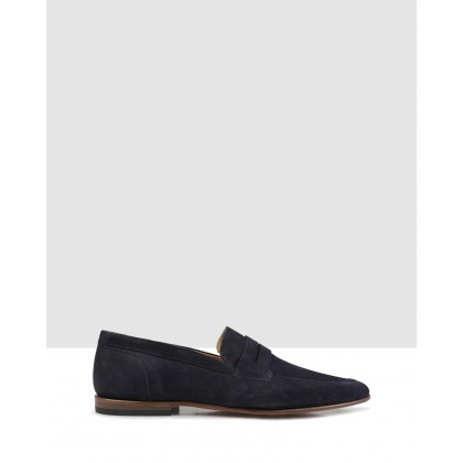 Bellinger Loafers Navy by Brando