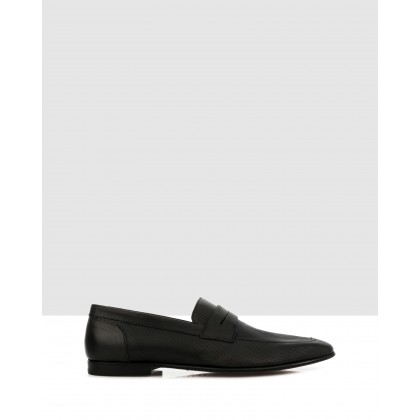 Bellinger Loafers Nero by Brando
