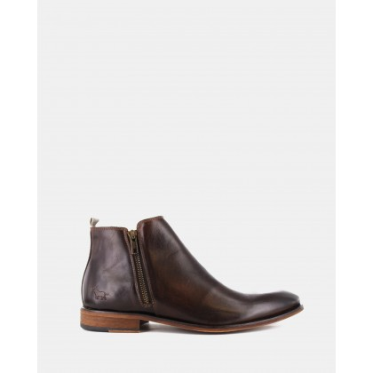 Belmont Boots Dark Brown by Wild Rhino