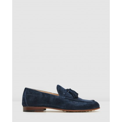 Belvedere Loafers Navy by Aquila