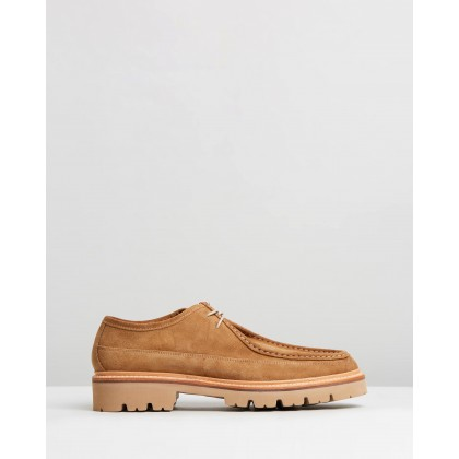 Bennett Honey Suede by Grenson