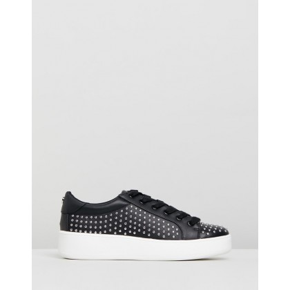 Bentley Black with Studs by Steve Madden