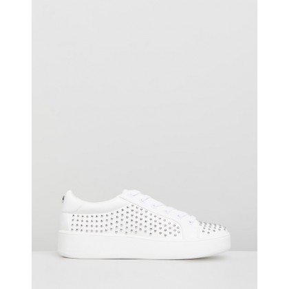 Bentley White with Studs by Steve Madden
