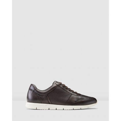 Benton Sneakers Brown by Aquila