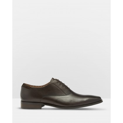 Bernie Leather Oxford Shoes Brown by Oxford