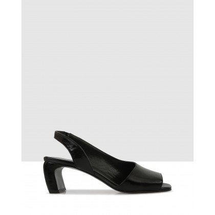 Bev Sandals Black by Sempre Di