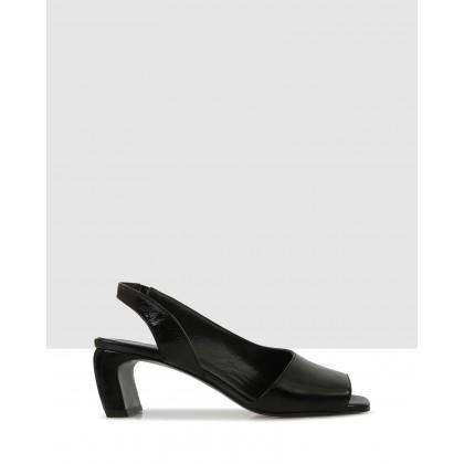 Bev Sandals Black by Sempre Di