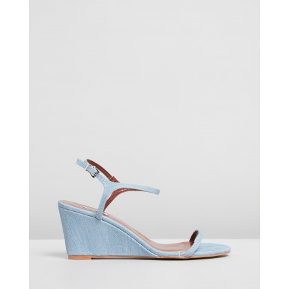 Bianca Wedges Denim by Dazie