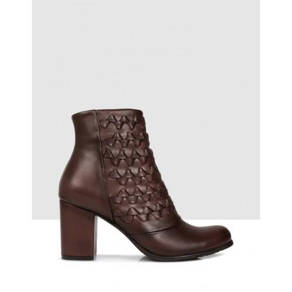 Biella Ankle Boots 25 BROWN by Sempre Di