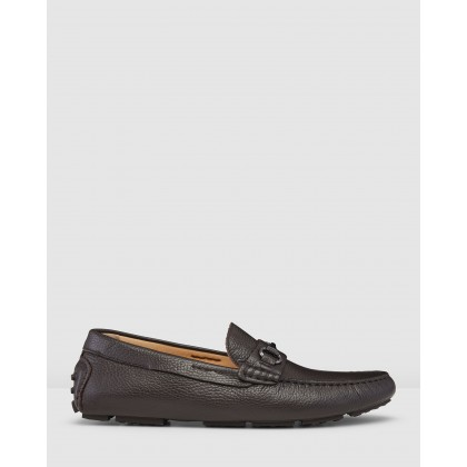 Bismarck Driving Shoes Coffee by Aquila