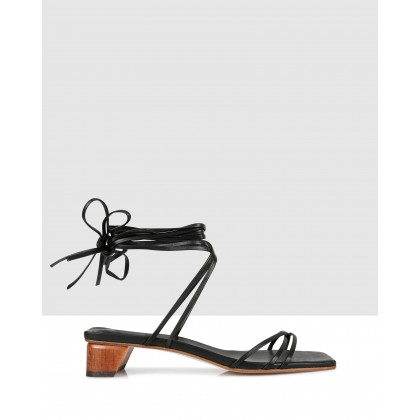 Blair Sandals Black by Beau Coops