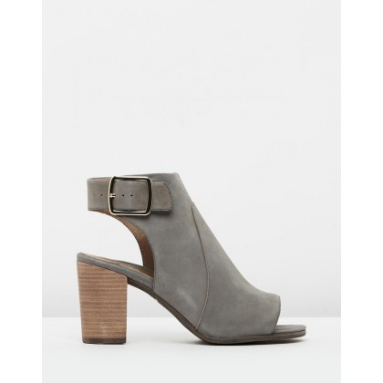 Blakely Booties Grey by Vionic