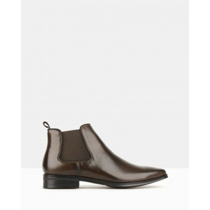 Blitz Chelsea Boots Chocolate by Airflex