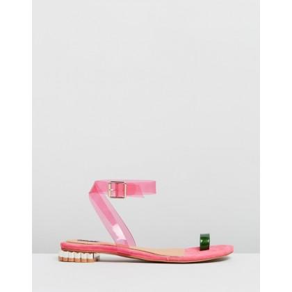 Bloom PVC Flats Bubblegum by Jaggar The Label