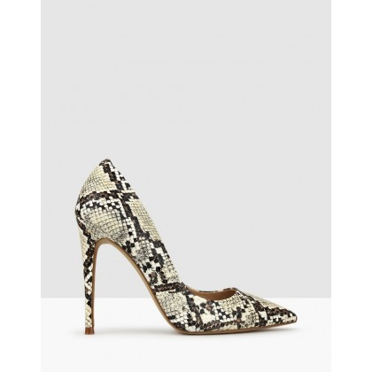 Blossom Stiletto Heels Snake by Betts