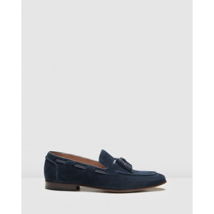 Blume Loafers Navy by Aquila