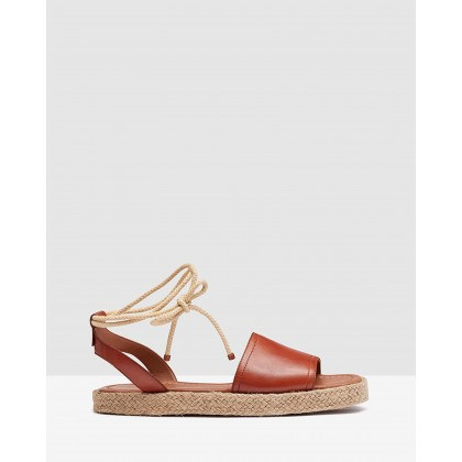 Bo Espadrille Sandal Tan by Oxford