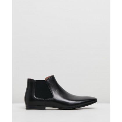 Boewien Black Leather by Aldo