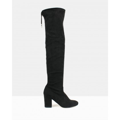 Bold Over-The-Knee Boots Black by Betts