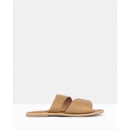Bondi Slip On Sandals Tan by Betts