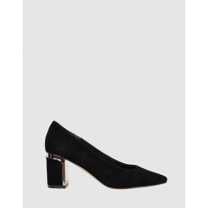 Bonnie BLACK SUEDE by Jane Debster