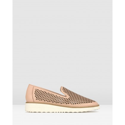 Bonsai Perforate Loafers Nude by Airflex